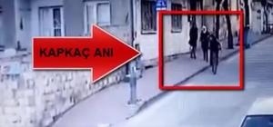 Kapkaç şüphelileri kameralardan kaçamadı