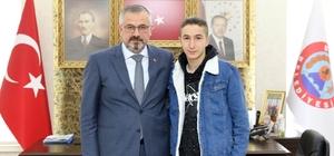 Başkan Kılıç, milli davet alan Selçuk'a başarılar diledi