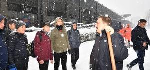 Malatya'da 506 mahalle yolu kar nedeniyle ulaşıma kapandı