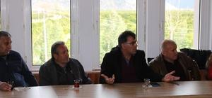 Finike ve Kumluca'da ulaşımla ilgili toplantı yapıldı