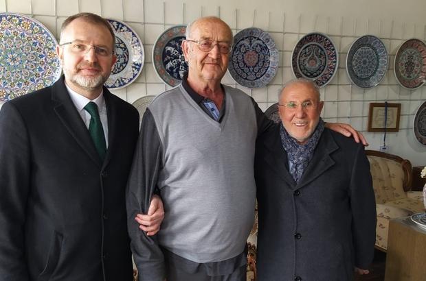 Başkan Ceyhun'dan Hamza Üstünkaya'ya tebrik ziyareti