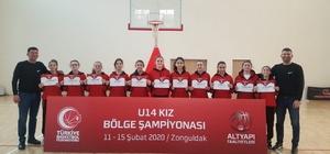 İlkadım U-14 Kız Basketbol Takımı, Anadolu Şampiyonası'na adını yazdırdı İlkadımlı basketbolcular, 'Karadeniz Bölge Şampiyonu' oldu