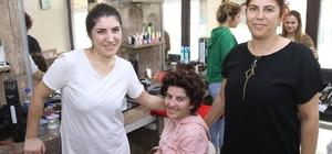 14 Şubat gelinlerinin saç ve makyajları kursiyerlerden