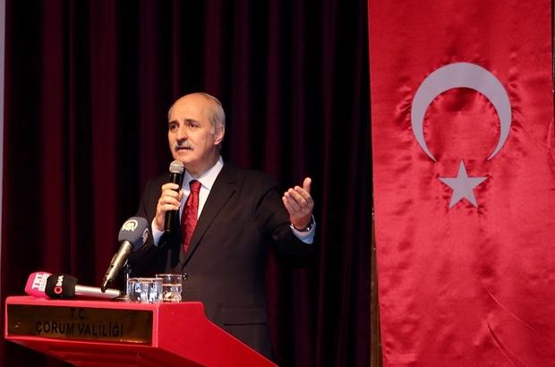 """AK Parti Genel Başkanvekili Kurtulmuş: """"İskilipli Atıf Hoca siyasi tartışmaların tarafı olmamalıdır"""" """"Türk modernleşmesi dünyadaki en problemli modernleşmedir"""" """"Türk modernleşmesinin sakat, eksik hatalı başlamasının temel nedeni Batı medeniyeti karşısındaki mağlubiyet hisliği. Buradan geleceğe doğru güçlü ve büyük Türkiye olarak yürüyeceksek bu ülkenin insanları olarak, genç nesiller olarak kazanmamız gereken en önemli şey özgüvendir. Biz yenilmedik"""""""