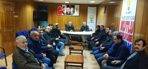Hisarcık'ta yapılacak proje ve yatırımlar ele alındı