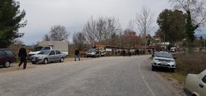 Naras Çayı'na uçan otomobil dalgıçlar tarafından bulundu