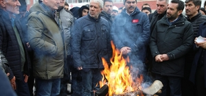 Bakanlar Soylu ve Kurum Elazığ'da çalışmalarını sürdürüyor