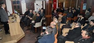 """Eskişehir Türk Ocağından """"'Sen' dili değil 'Ben' dili"""" konulu konferans"""