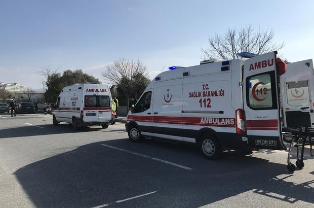 Virajı alamayan motosiklet ağaca çarptı; 2 ağır yaralı