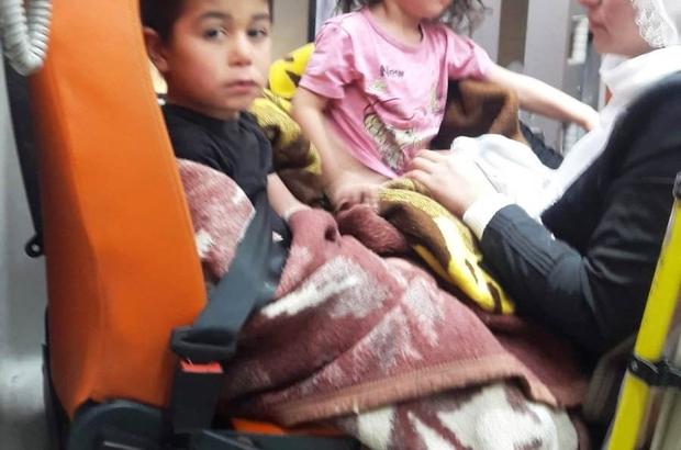 Mezrada hastalanan iki kardeşe uzun uğraşlar sonucu ulaşıldı