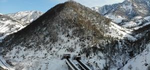 Cankurtaran tüneli çileyi bitirdi Kış aylarında Cankurtaran tüneli büyük kolaylık sağlıyor