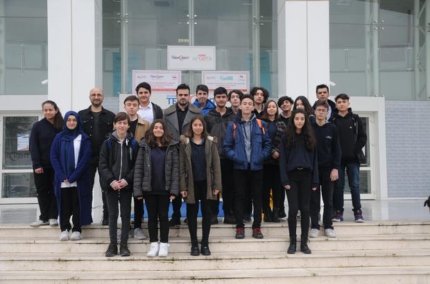 MTB Anadolu Lisesi öğrencileri Teknokent'i inceledi