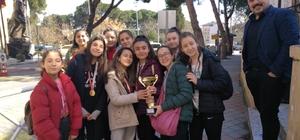 Buldan'da voleybolun şampiyonları belli oldu