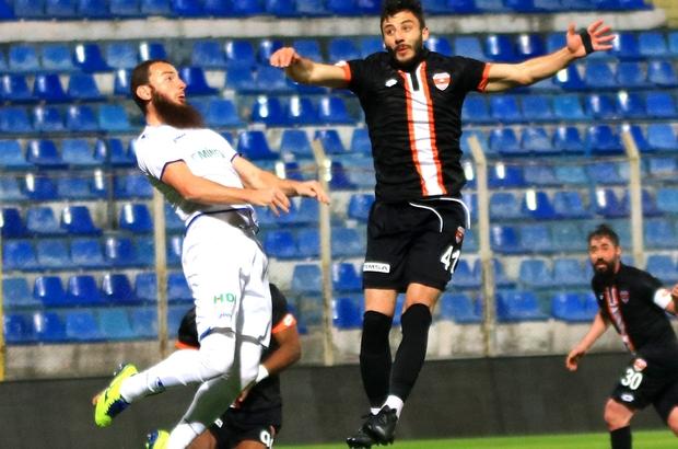 TFF 1. Lig: Adanaspor: 0 - BB Erzurumspor: 0 (İlk yarı sonucu)