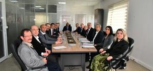 Turgutlu OSB Toplantısı, Vali Deniz başkanlığında yapıldı