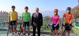 """Tour Of Antalya heyecanı başlıyor Antalya Valisi Münir Karaloğlu: """"Tour Of Antalya, Antalya'yı dünyanın en önemli bisiklet destinasyonlarından birisine dönüştürecek"""""""