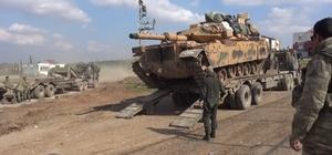Sınıra tank sevkiyatı devam ediyor