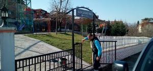 Başiskele'de park ve bahçeler elden geçiriliyor