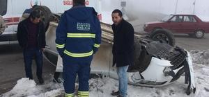 AK Partili Öztoprak, kaza geçirdi
