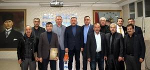 AK Parti'den, eski ilçe başkanlarına teşekkür plaketi