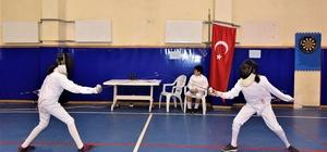 Osmaniye'de Eskrim birincileri belli oldu