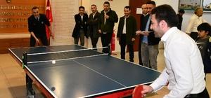 Çayırova Belediyesi masa tenisi turnuvası başladı
