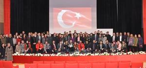 """""""Gençlik, Şuur, Öz güven ve İletişim"""" konferansı verildi"""