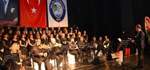 Salihli'de kış konseri mest etti
