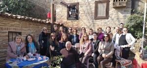 İzmirli kadın girişimciler Ödemiş'i gezdiler