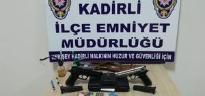 Osmaniye'de uyuşturucu operasyonu: 14 gözaltı