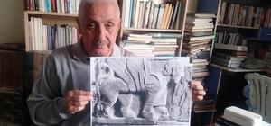 Yılanların atası Hitit Şahmeranı Kadirli'de ortaya çıktı Yılanların şahı ve anası olarak efsaneleşmiş mitolojik yaratık olan Şahmeran efsanesi figürü Karatepe Hitit Harabelerinde 2 Bin 800 yıllık duvar kabartmasında ortaya çıktı