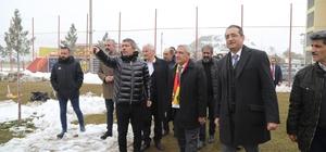 Başkan Güder Yeni Malatyaspor'a moral ziyaretinde bulundu
