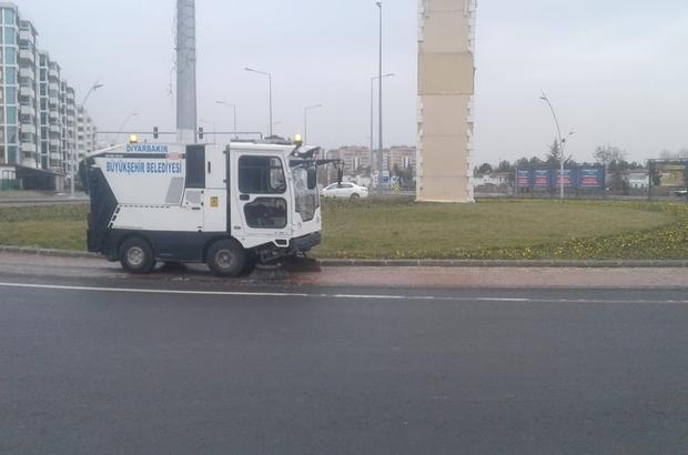 Diyarbakır'da 250 personel ve 28 araçla genel temizlik çalışması