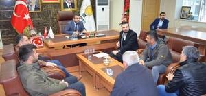Başkan Gür vatandaşlarla buluştu