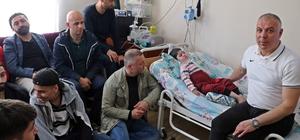 SMA Hastası 3,5 yaşındaki Uğur'a Turanspor desteği Almanya Amatör ligde mücadele veren Turanspor Mannheim yöneticileri ve futbolcuları, SMA Hastası 3,5 yaşındaki Uğur'u ziyaret ederek medikal ihtiyaçları için aileye maddi destekte bulundu