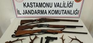 Jandarma ekiplerinden Karaca ve kaçak silah operasyonu