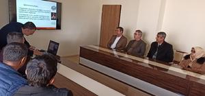 Gercüş'te kamu çalışanlarına iş sağlığı ve güvenliği eğitimi verildi