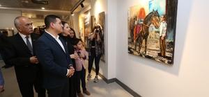 Modern Sanatlar Galerisi'nde 2 ressam, 2 sergi
