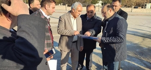Ortaköy MYO'nun çevre düzenlemesi yapılıyor