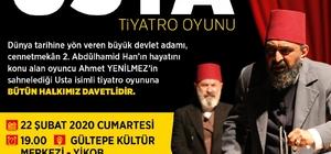 Ahmet Yenilmez ile 'Usta Oyunu' sahnelenecek
