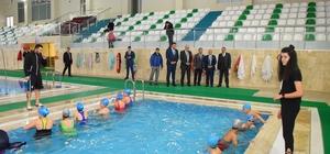 Salihli'de 'Yüzme Bilmeyen Kalmasın' projesine tam destek
