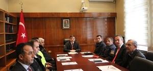Sungurlu'da otobüs kazalarının önlenmesine yönelik toplantı