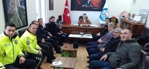 Türkeli'de otobüs kazalarının önlenmesine yönelik toplantı düzenlendi