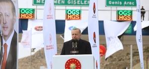 """Cumhurbaşkanı Erdoğan'dan Kılıçdaroğlu'na: """"Kendisi aranızda da ben mi göremiyorum?"""" (2) Binali Yıldırım: """"Yolları böleriz, Türkiye'yi böldürtmeyiz herkes bunu bilsin"""" Bakan Turhan: """"İzmir'e bugüne kadar 26 milyar lira ulaşım yatırımı yaptık"""""""
