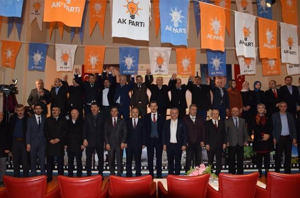 AK Parti'de kongre süreci başladı AK Parti Eskipazar İlçe Başkanı Ali Ünal oldu