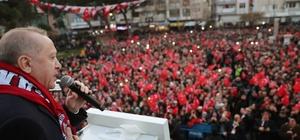 """Erdoğan'dan İdlib açıklaması: """"5 Mart'ta tekrar bir araya geleceğiz ve bu konuları konuşacağız"""" """"Bizim için İdlib meselesi Afrin kadar, Barış Pınarı Harekat bölgesi kadar önemlidir"""" """"Sayın Merkel ve Macron'a da ifade ettim. 5 Mart'ta tekrar bir araya geleceğiz ve bu konuları konuşacağız"""" """"Savunma sanayinde yerlilik oranı yüzde 20'ydi, şimdi yüzde 70'in üzerine çıktı"""" """"Savunma sanayinde yılda 3-4 milyar dolar ihracat yapıyoruz"""" """"Şimdi tankımızı da üretiyoruz. Zırhlı taşıyıcılarımızı da üretiyoruz"""""""
