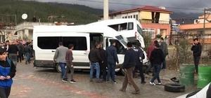 21 kişinin yaralandığı okul servisi kazasının görüntüleri ortaya çıktı Osmaniye'de lise öğrencilerini taşıyan okul servisinin kaza anına dair görüntüler ortaya çıktı