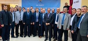AK Parti Çiçekdağı ilçe kongresi yapıldı İlçe Başkanı Hüseyin Keskin güven tazeledi