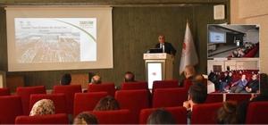 Bayburt'ta devlet destekli tarım sigortaları bilgilendirme toplantısı