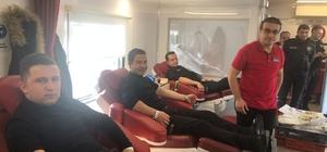 Kargı Polis'inden kan bağışına destek